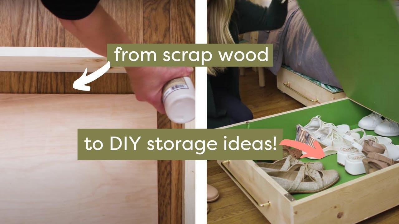 Diy Under Bed Storage You