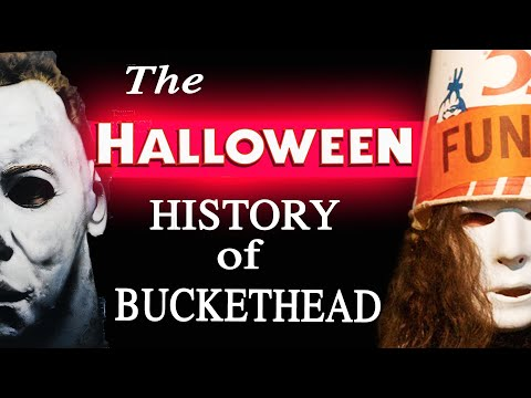The History of Buckethead & HALLOWEEN 🎃