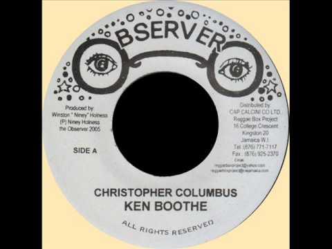 "Ken Boothe - Christopher Columbus + Dub (OBSERVER) 7"".wmv"