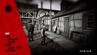 **Red dead** exploring the world