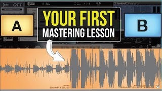 YOUR FIRST MASTERING LESSON! - BEGINNER ABLETON LESSONS.COM