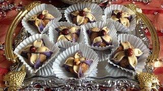 Jasmine Flower Cookies - حلوى الياسمينة )حلويات اللوز) - Fleur De Jasmin