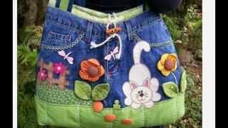Сумки джинсовые своими руками(Сумки джинсовые http://youtu.be/oSKQ0GdAYgE своими руками сумку сшить сумка сумка джинсовая из старых джинсов сшить..., 2015-04-23T12:29:57.000Z)
