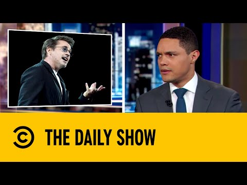 Tony Stark's Proposal for Planet Preservation | The Daily Show with Trevor Noah