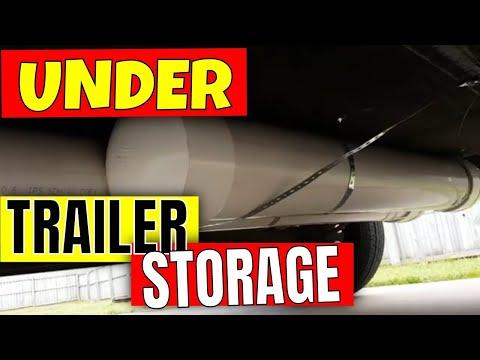 UNDER TRAILER STORAGE 6 X 12 Cargo Trailer Conversion Part 21 Vanlife Skoolie Gb Adventures
