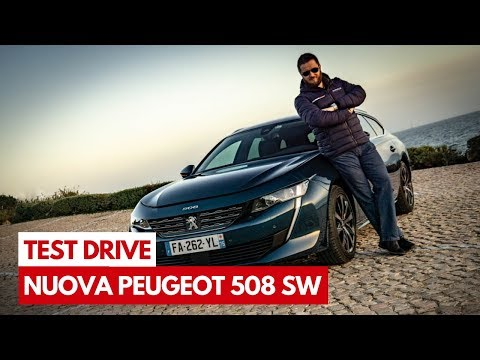 Nuova Peugeot 508 Station Wagon   Test Drive in Anteprima della nuova generazione