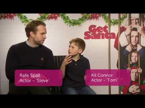 Get Santa Interview with Rafe Spall