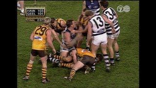 Hawthorn v Geelong, 1999 | AAMI Classic Last Two Mins | AFL