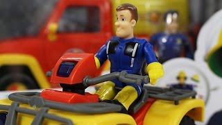 Fireman Sam / Strażak Sam - Simba - Quad Bike Mercury / Quad Mercury - 109251058