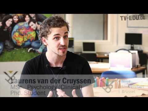 Interview with an MSc, PhD student (clinical psychology) on studying at the VUB