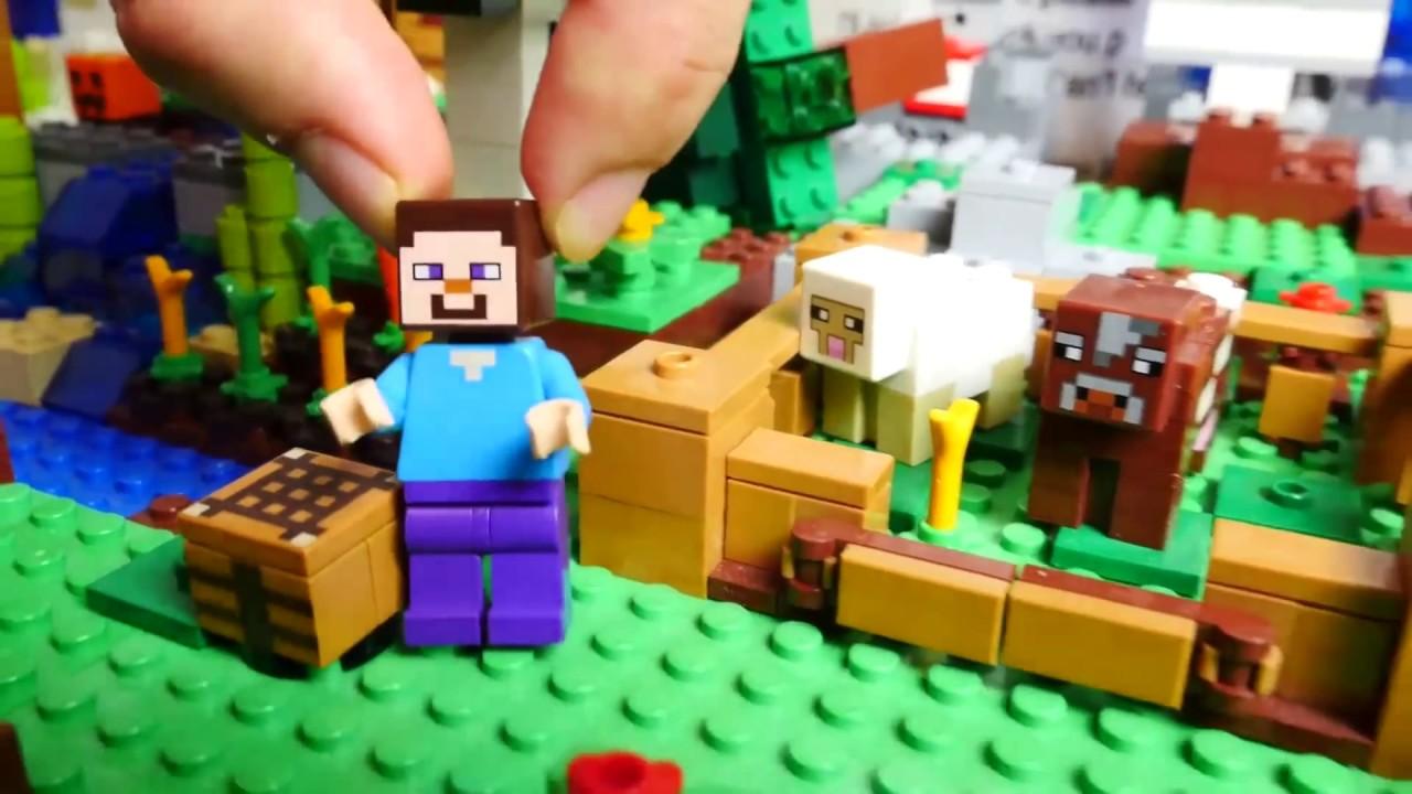 Videos De Juguetes Lego Minecraft Para Ninos Con Adrian Youtube
