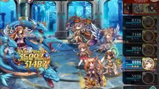 英霊ソロモンを編成してギルドオーダークエストをクリア Kamihime Project Guild Order Jormungand Shadow Solomon Clear.