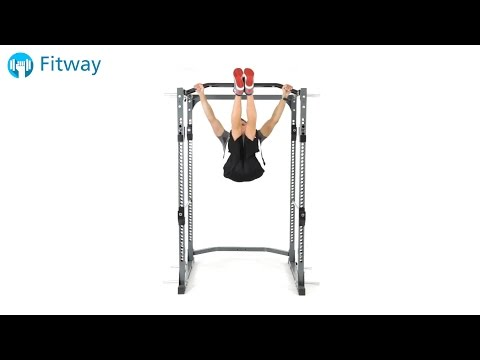 How To Do: Bodyweight Leg Raise - Hanging Windshield Wipers | Ab Workout Exercise