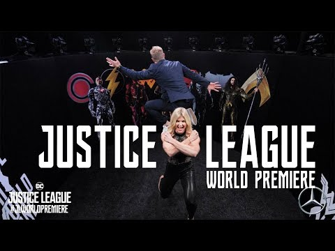 Brooke Ence - Justice League World Premiere