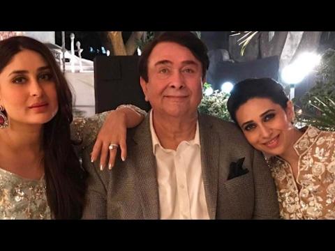 Randhir Kapoor's 70th Birthday Bash Full Video | Kareena Kapoor, Saif, Karishma, Ranbir & More