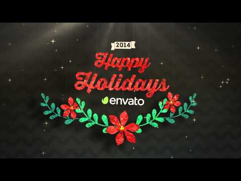 Hanging Holiday Greetings Pack ( Videohive After Effects Template )
