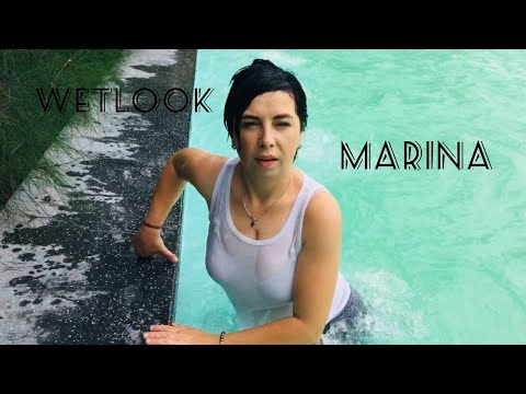 marina is on vacation, swimming for you))