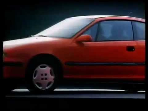Advert Opel Calibra