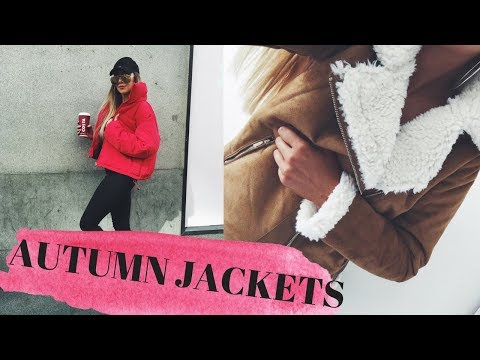 AUTUMN JACKETS - TRY ON HAUL | PRETTY LITTLE THING, MISSGUIDED & ASOS | LUCY RADWELL