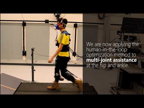 Human-in-the-loop Bayesian optimization of hip assistance during walking