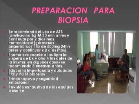 precauciones después de la biopsia de próstata