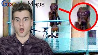 Creepiest Photos Caught On Google Maps!