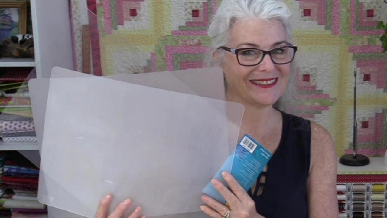 DIY Quilters Template Plastic - YouTube : template plastic for quilting - Adamdwight.com