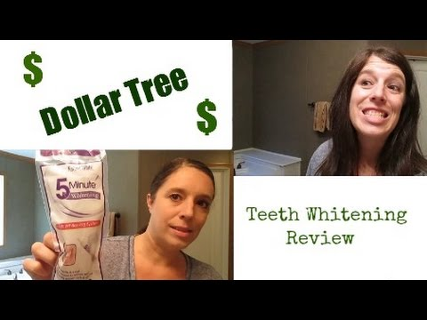 Dollar Tree Teeth Whitening Review Youtube