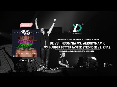 Be vs. Insomnia vs. Aerodynamic vs. H.B.F.S vs. Knas (Steve Angello, DV&LM BTM 2016)