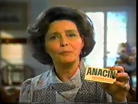 Patricia Neal, Anacin TV Commercial