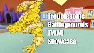 Roblox Troublesome Battlegrounds The World Alternate Universe Showcase!