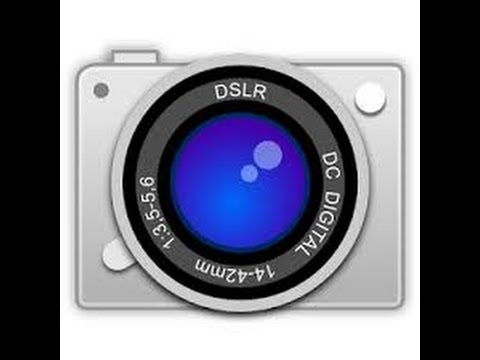 How to easy DSLR camera app download and handle it's real DSLR app