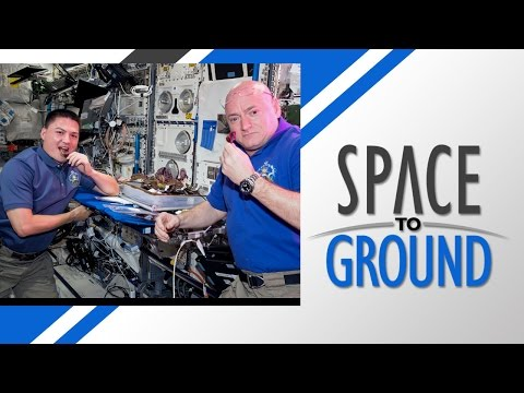 Space to Ground: Space Veggie: 8/14/2015
