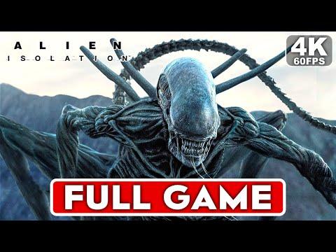 ALIEN ISOLATION Gameplay Walkthrough Part 1 FULL GAME [4K 60FPS PC] - No Commentary thumbnail