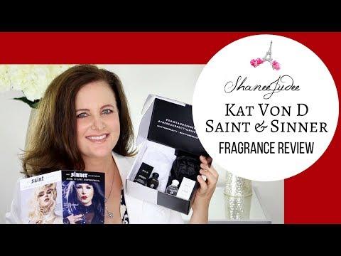 KAT VON D SAINT + SINNER FRAGRANCE REVIEW | INFLUENSTER | ShaneeJudee