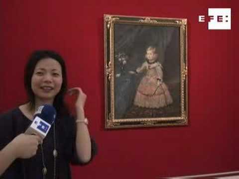 Una Infanta del genial Velázquez, estrella en un m...