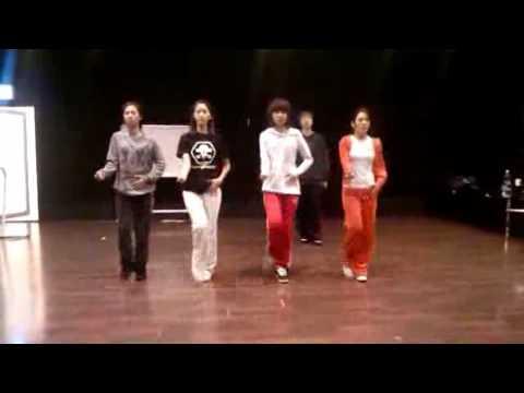 SNSD Practice Room (Rhythm Nation) Yuri Yoona Sooyoung Hyoyeon Dec30.2009 GIRLS' GENERATION