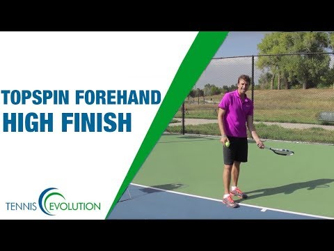 How To Improve Topspin Forehand | TENNIS FOREHAND