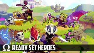 A SUPER FUN *NEW* PARTY GAME! | ReadySet Heroes Multiplayer Party with Squirrel!