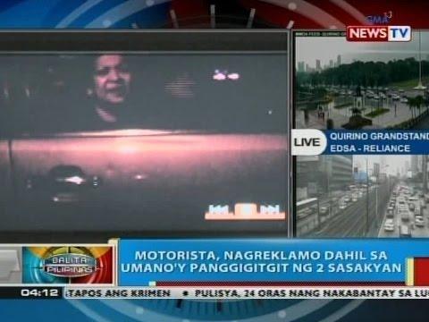 BP: Motorista, nagreklamo dahil sa umano'y panggigitgit ng 2 sasakyan sa Quezon City