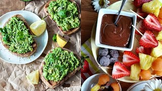 EASY VEGAN AFTER SCHOOL/WORK SNACKS FOR WEIGHT LOSS
