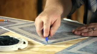 How to Lay Linoleum Around the Toilet : Let's Talk Flooring