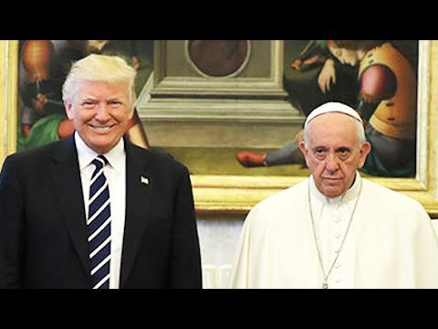 Pope Francis STOKED To Meet Trump