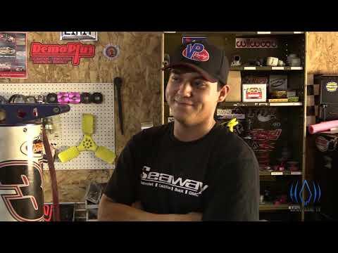 Native American Race Car Driver (Thomas Cook)