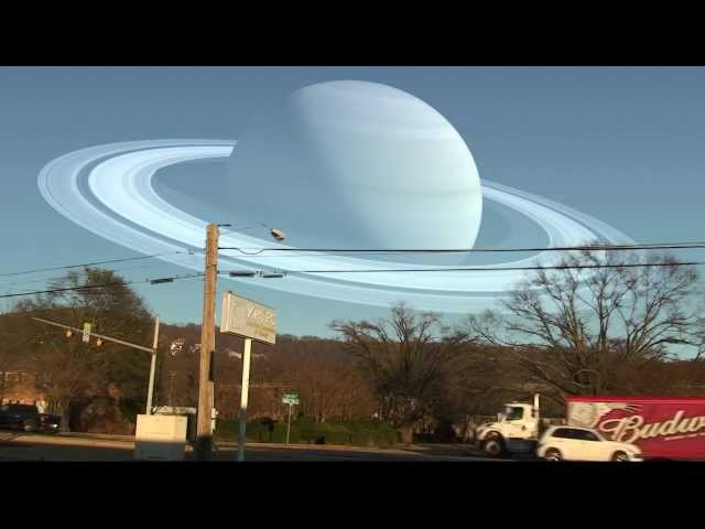 If the Moon were replaced with some of our planets Travel Video