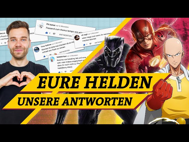 Black Panther, One Punch Man, The Flash: Eure Helden im Check (Science vs. Fiction)