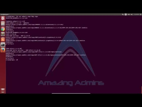 4 Create Ambari and HDP Local Repository on CentOS 6(Redhat 6) Linux