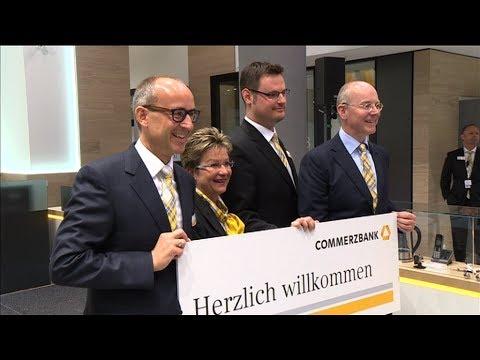 Flagship-Filiale Der Commerzbank Eröffnet
