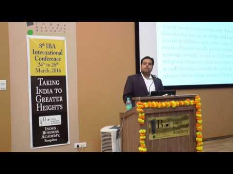 8th IBA International Conference - Mr. Yusuf Unjhawala (Defence Analyst)