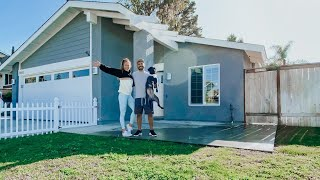 WE BOUGHT A HOUSE! Empty House Tour!